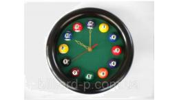 Бильярдные часы круглые